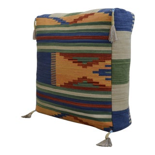 Floor Cushion Turkish Hand Woven Kilim - 28″ X 28″