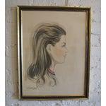 Image of 1960s Framed Vintage Portrait