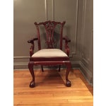 Image of Vintage Chippendale Chairs - Set of 10