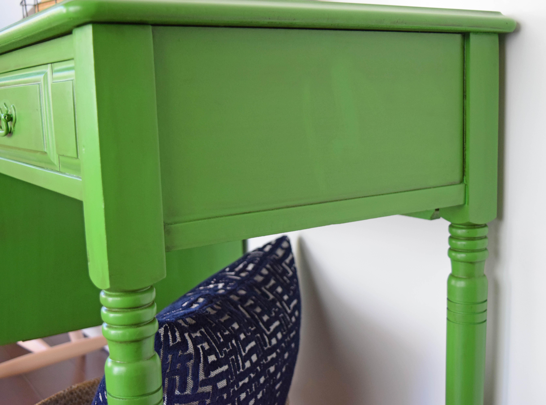 vintage sewing machine desk