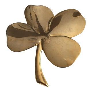 Brass 4 Leaf Clover