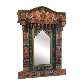 Indian Inspired Wall Mirror
