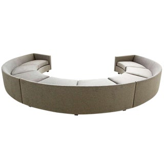 Milo Baughman Curved Sectional