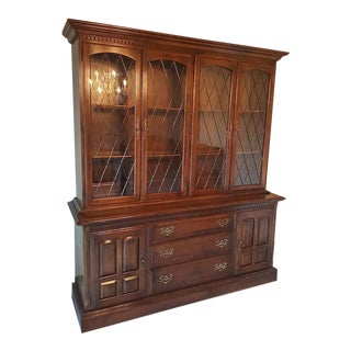 Ethan Allen Solid Maple Hutch