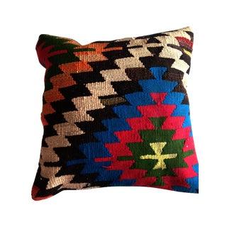 Vintage Blue Kilim Pillow
