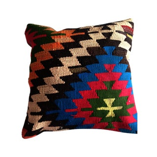 Vintage Blue Kilim Pillow