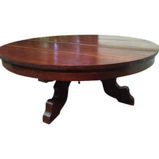 Hand-Hewn Cherry Coffee Table