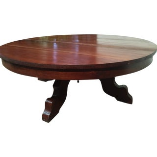 Hand-Hewn Cherry Coffee Table