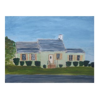 """Ocean Gateway House"" Painting"