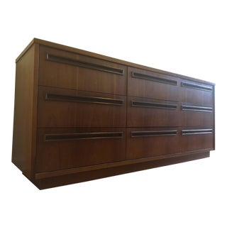 1960's Nine Drawer Danish Low Boy/Credenza