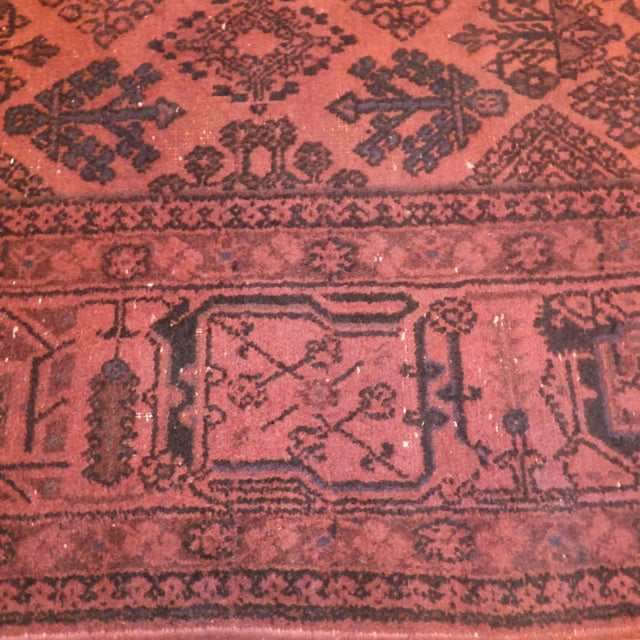 """Persian Over Dyed 11'2"""" x 7'2"""" Rug - Image 4 of 4"""
