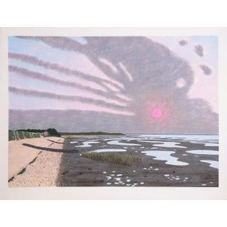 Bill Sullivan - Low Tide 22 Hand Colored Litho