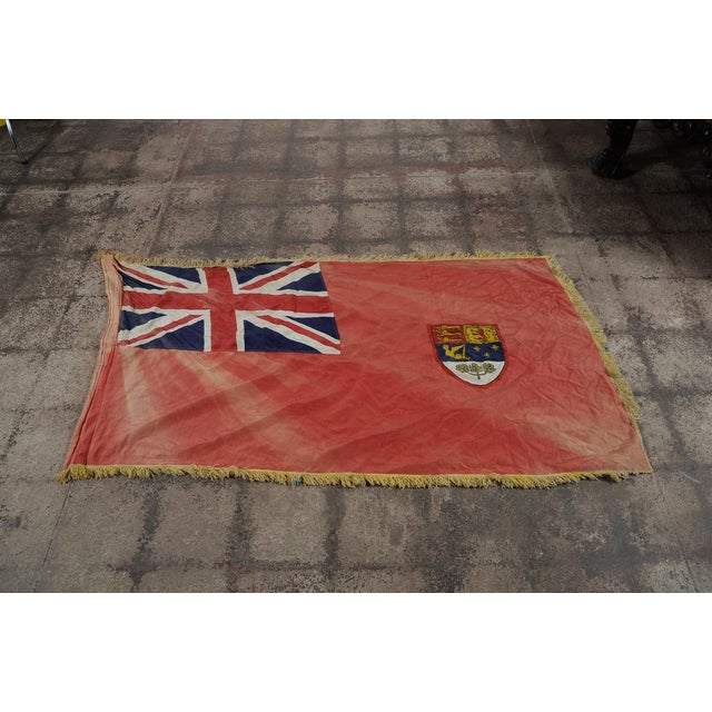 Canadian Red Ensign Original C.1930s Vintage Flag - Image 2 of 10