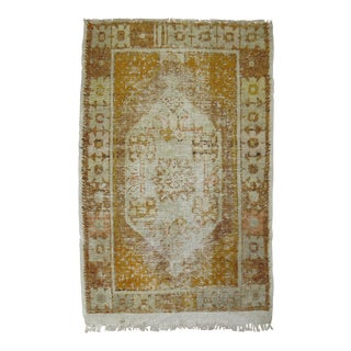 Distressed Turkish Anatolian Rug, 2'11'' x 4'3''