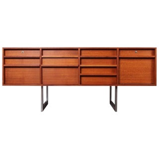 Teak Credenza by Bodil Kjaer for E. Pederson & Sons