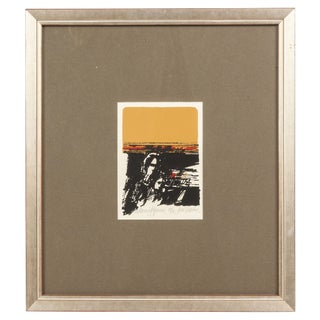 """""""A Learning Experience"""" Abstract Print by Jane Voorhees, Signed and Numbered"""