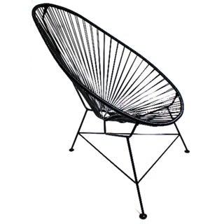 Handmade Vinyl and Steel Alcapaco Chair