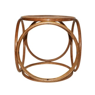 Bentwood Stool In The Style of Michael Thonet