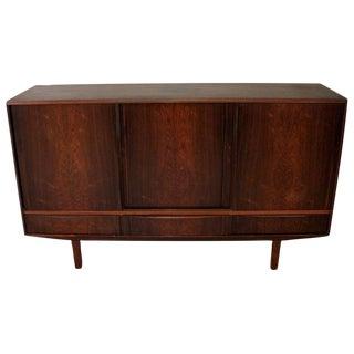 1960s N.P. Nielsen for Sejling Skabe Danish Modern Rosewood Credenza