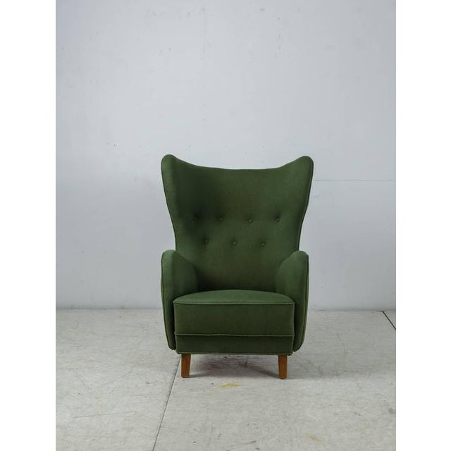 Mogens Lassen Style Lounge Chair, Denmark, 1940s - Image 2 of 10