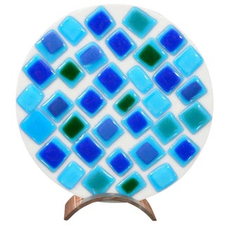 Decorative Mosaic Glass Plate