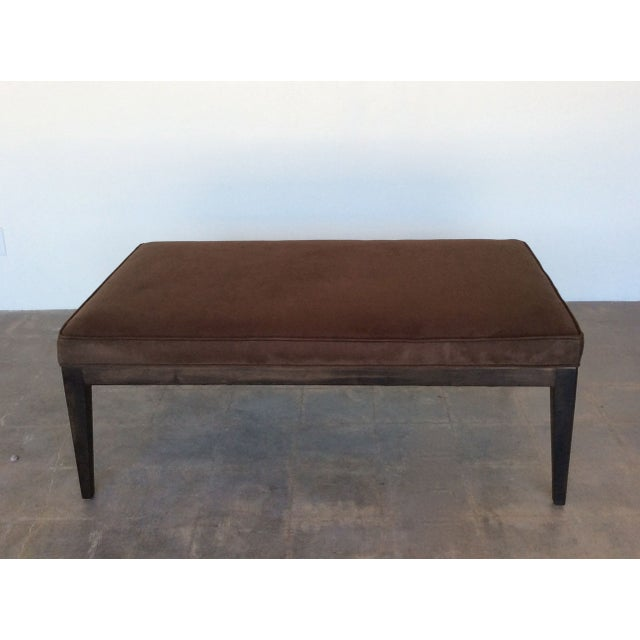 Contemporary Chocolate Brown Coffee Table Chairish