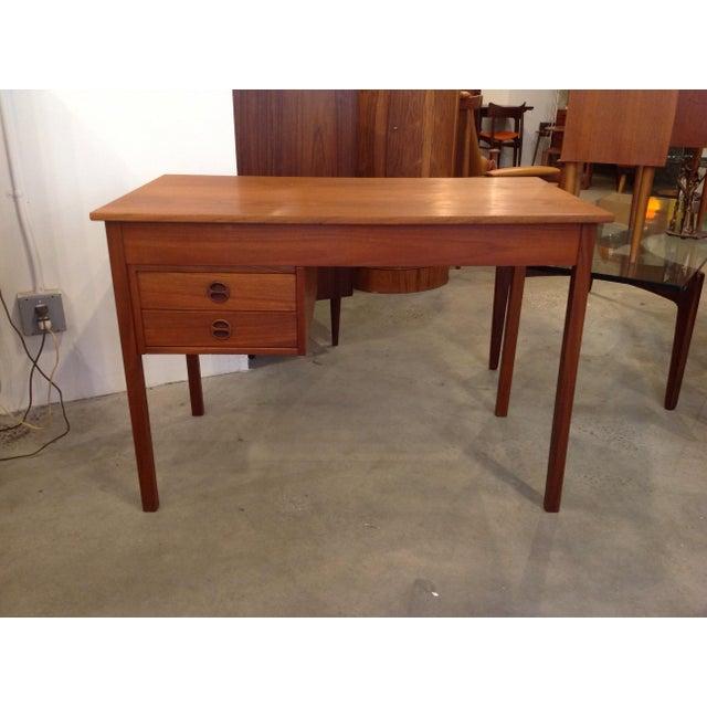 Danish Teak Desk - Image 8 of 9