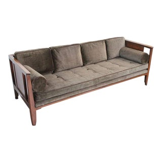 Rare sofa designed by Edward Wormley for Dunbar