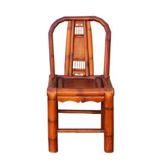 Handmade Classic Oriental Village Bamboo Relax Back Chair