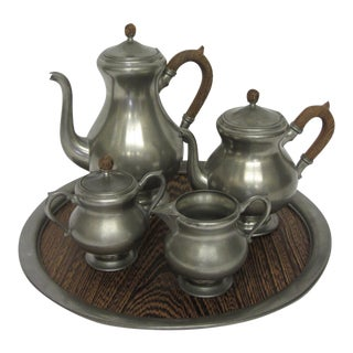 Royal Holland Pewter Tea/Coffee Service