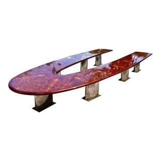 American Mid-Century Modern Conference Table Made for U.S. Steel Corporation