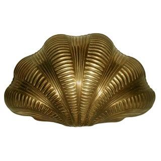 Chapman Brass Shell Wall Light