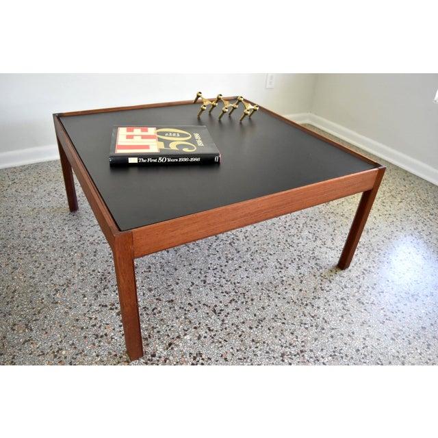 Mid-Century Danish Modern Teak Coffee Table - Image 5 of 8