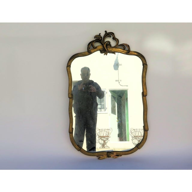 Antique Hand Carved Italian Mirror - Image 2 of 6
