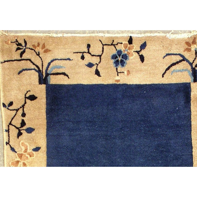 Image of 1900s Hand Made Antique Peking Chinese Rug - 3' X 5'