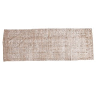 Distressed Oushak Runner - 4' X 11'3""