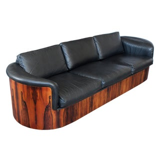 George Mulhauser for Plycraft Rosewood Case Sofa