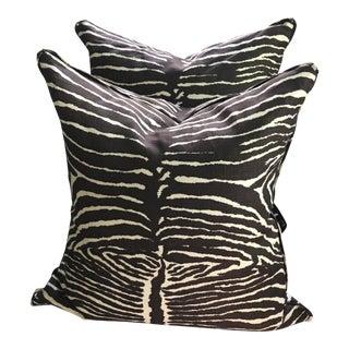 Brunschwig & Fils Le Zebra Pillows- Pair