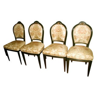 Antique Italian 18th C. Side Chairs - Set of 4