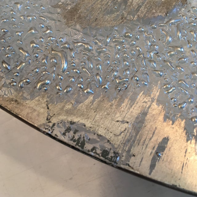 Dorothy Thorpe Silver Splatter Serving Platter - Image 5 of 7