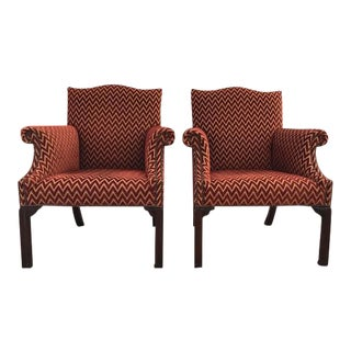 TRS Upholstered Accent Chairs - A Pair