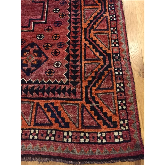 Persian Tribal Rugs: Vintage Persian Tribal Ornate Geometric Rug
