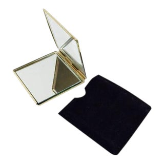Joan Rivers Gold Compact Mirror