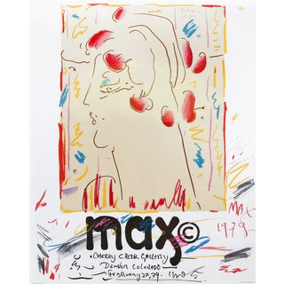 Peter Max Cherry Creek Gallery Colorado Poster