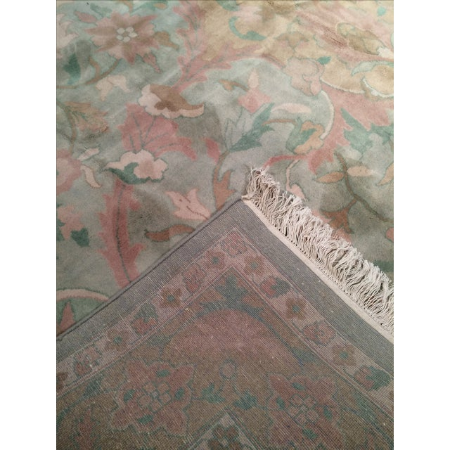 """Pasargad N Y Pastel Colors Tabriz Rug - 8'10"""" X 12' - Image 3 of 6"""