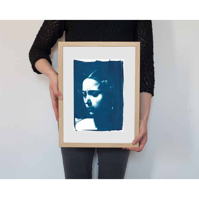 Judith Face Cyanotype Print by Caravaggio - Image 2 of 3
