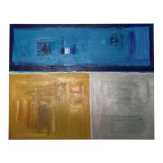 Original Abstract Painting Acrylic on Canvas by Michael Hall