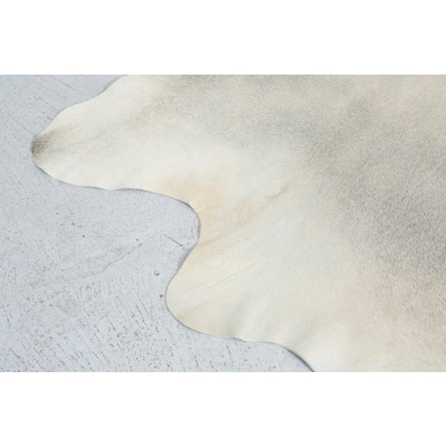 Genuine Brazilian Cowhide, Silver - Image 3 of 5