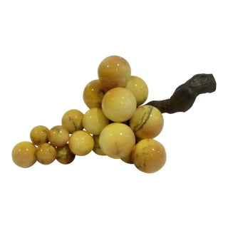 Golden Yellow Marble Grapes