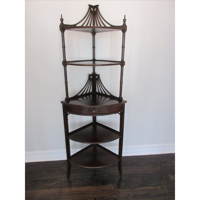 Antique Chippendale Five Tiered Etagere - Image 2 of 11